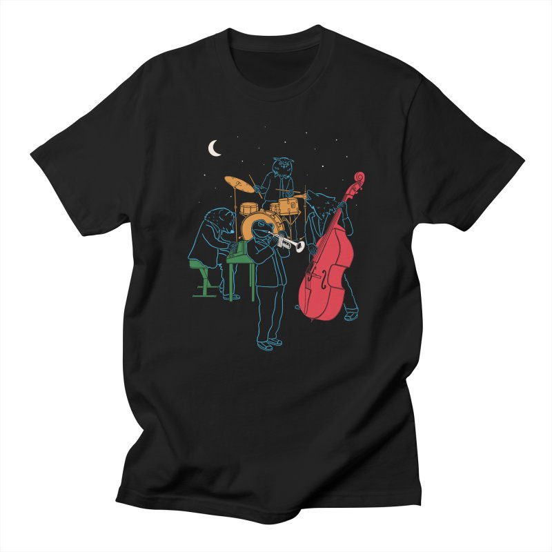 Animals Plays Music Men's T-Shirt by Palitosci