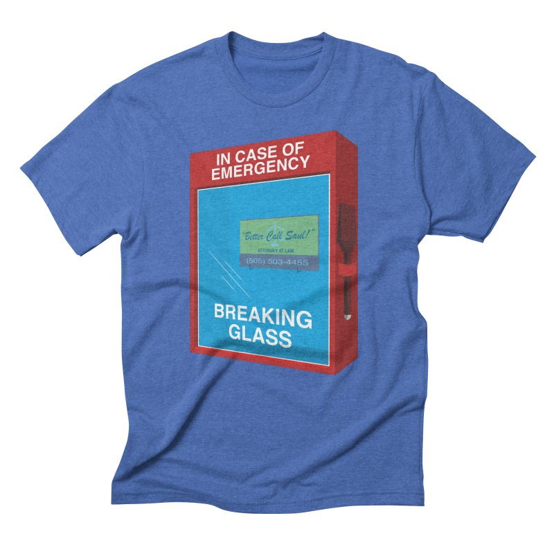 Breaking Glass Men's Triblend T-shirt by Palitosci