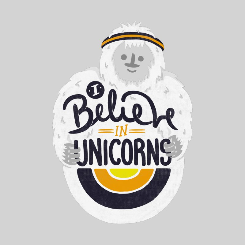 I Believe in Unicorns Men's T-Shirt by Palitosci