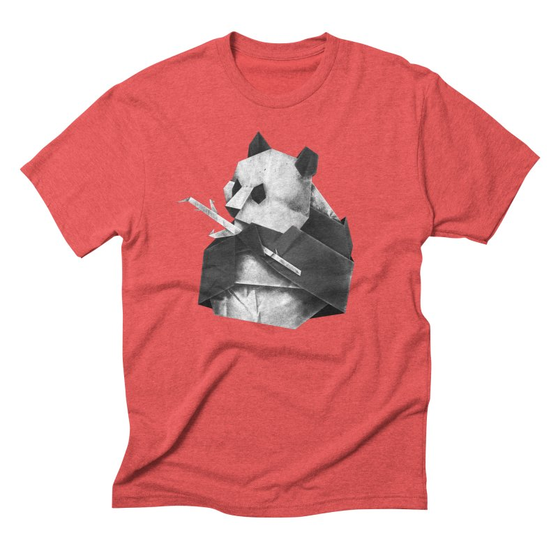 Pandagami Men's Triblend T-Shirt by Palitosci