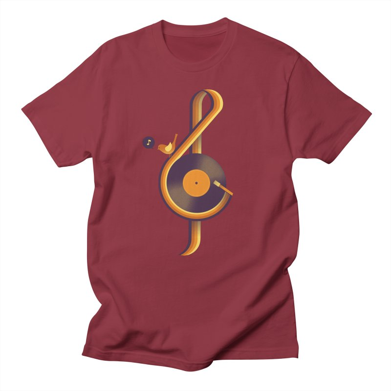 Retro Music Men's Regular T-Shirt by Palitosci