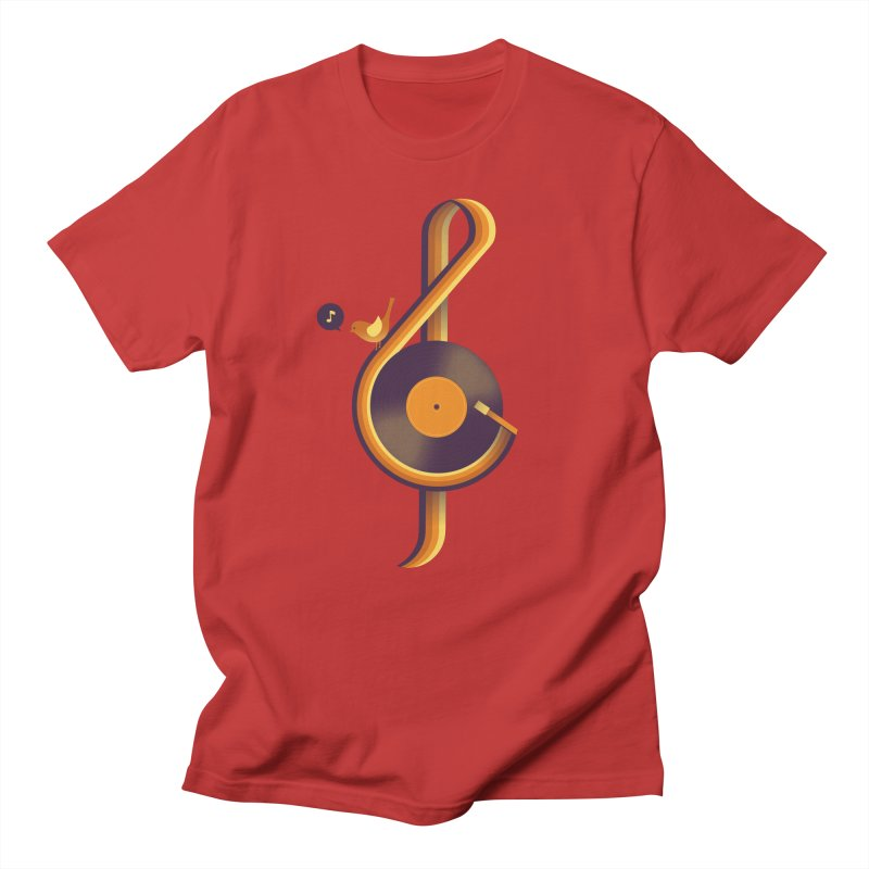 Retro Music Men's T-Shirt by Palitosci