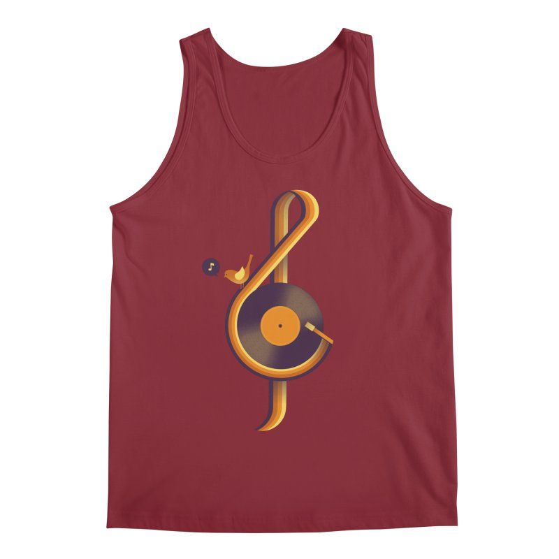 Retro Music Men's Tank by Palitosci