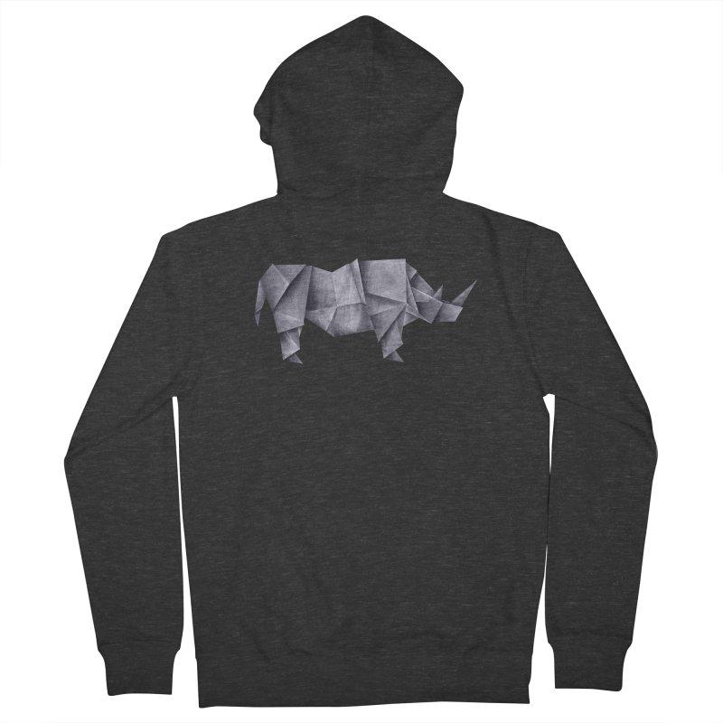 Rhinogami Men's Zip-Up Hoody by Palitosci