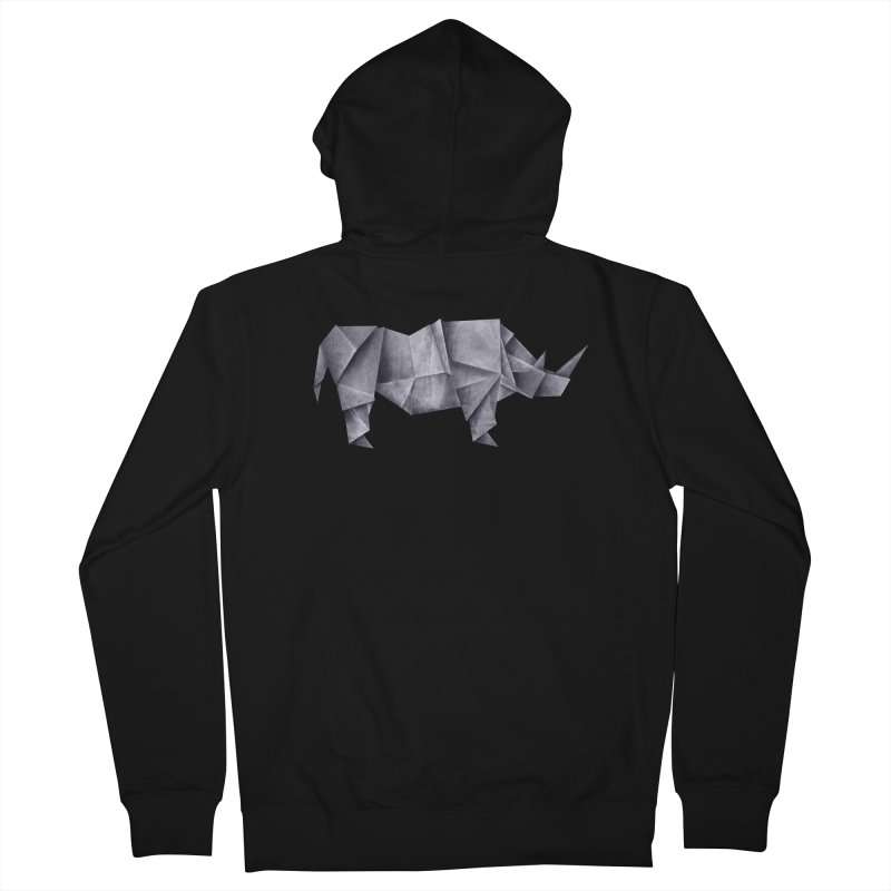 Rhinogami Men's French Terry Zip-Up Hoody by Palitosci