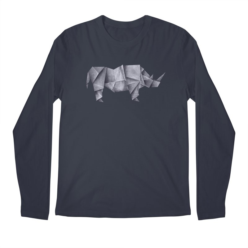 Rhinogami Men's Longsleeve T-Shirt by Palitosci