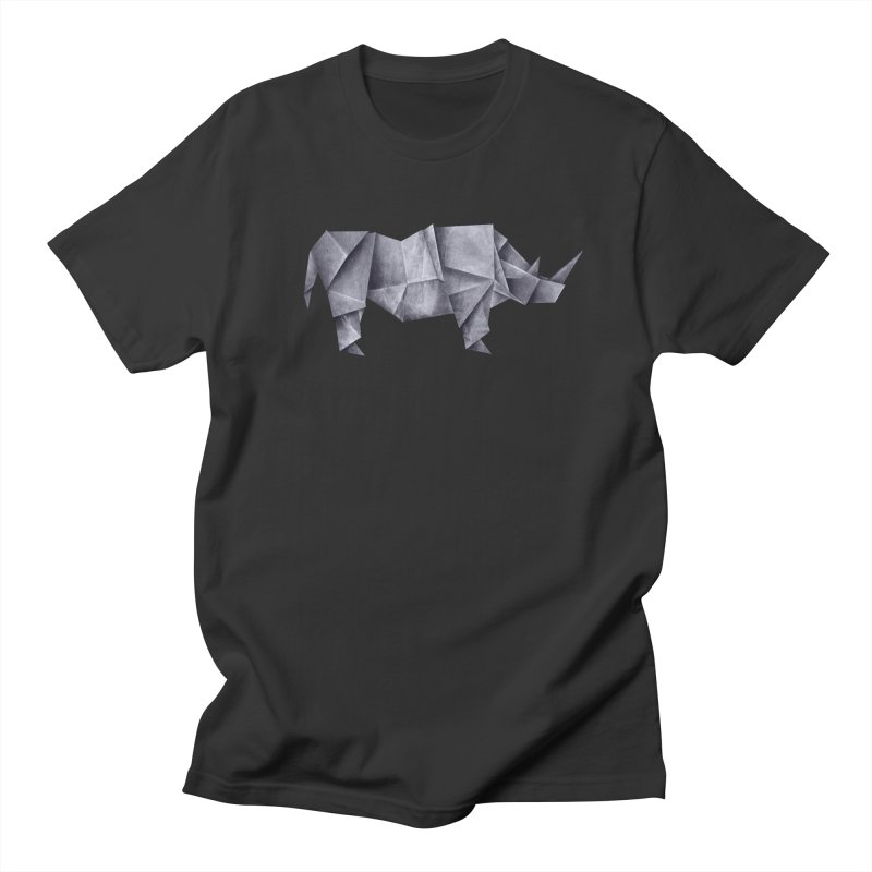 Rhinogami Men's T-shirt by Palitosci