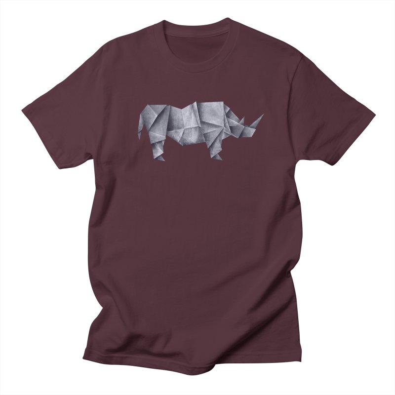 Rhinogami Women's Regular Unisex T-Shirt by Palitosci