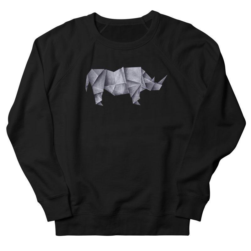 Rhinogami Men's French Terry Sweatshirt by Palitosci