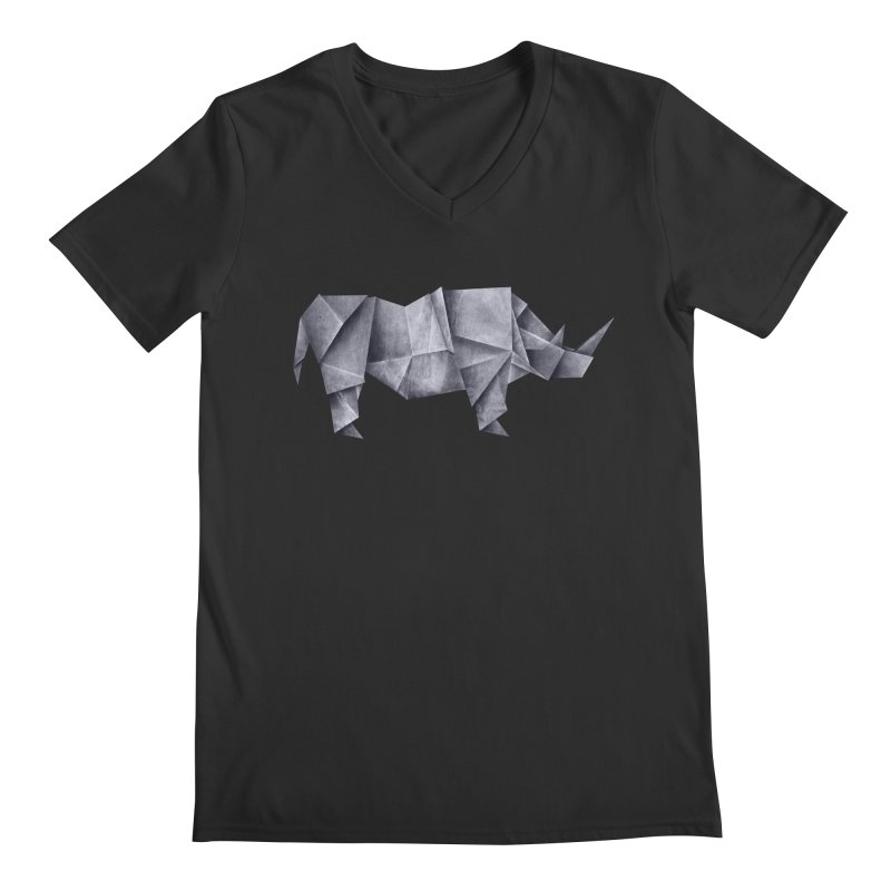 Rhinogami Men's V-Neck by Palitosci