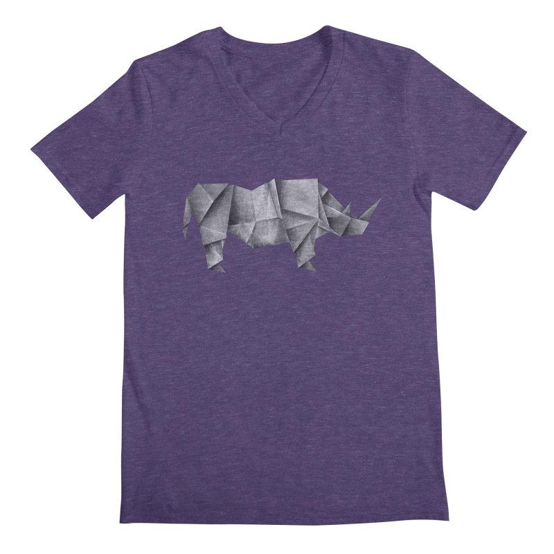 Rhinogami Men's V-Neck by Palitosci