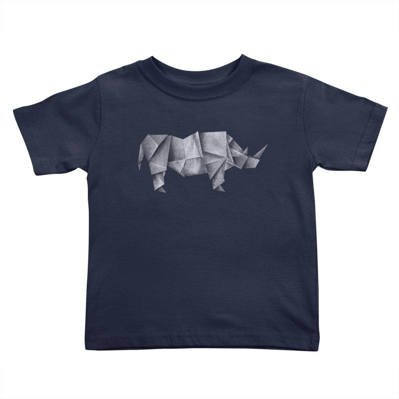 Rhinogami Kids Toddler T-Shirt by Palitosci
