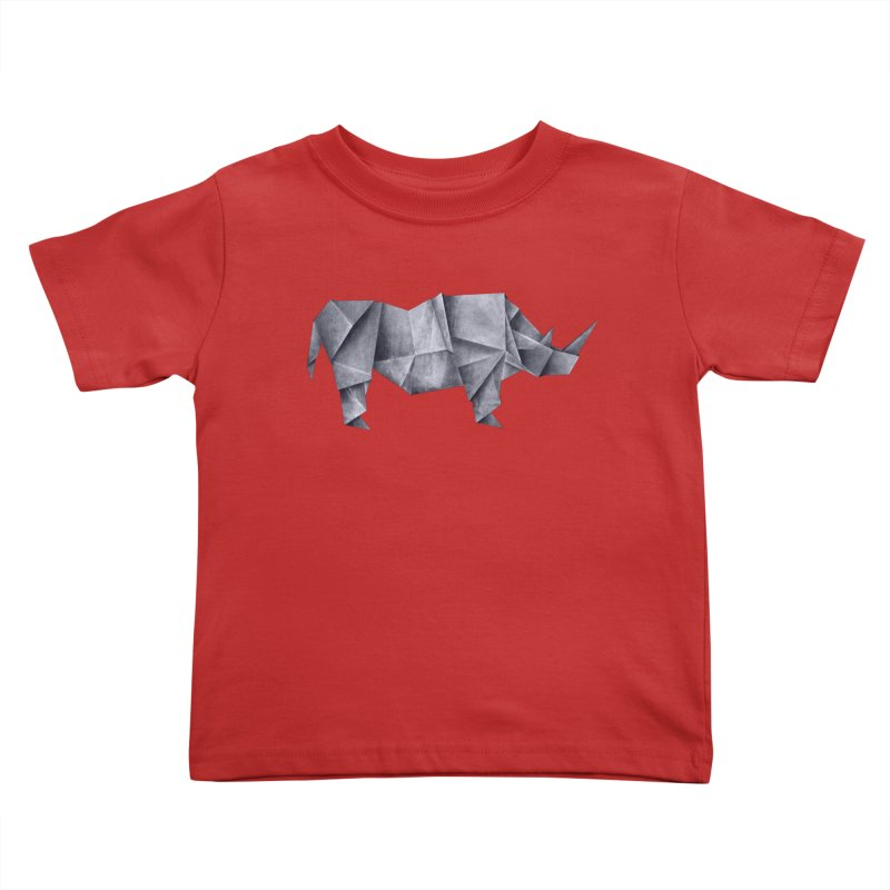 Rhinogami Kids Toddler T-Shirt by Palitosci