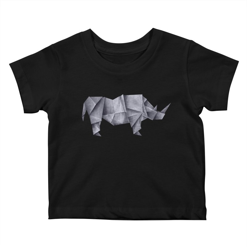 Rhinogami Kids Baby T-Shirt by Palitosci