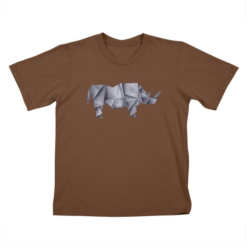 Rhinogami Kids T-shirt by Palitosci