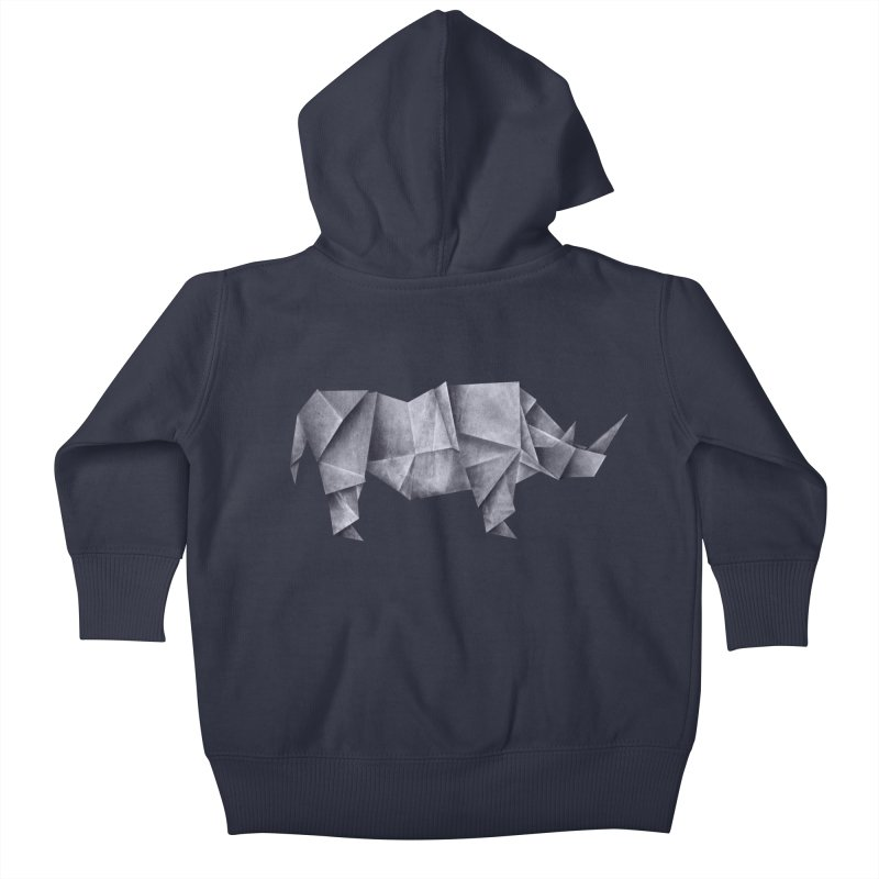 Rhinogami Kids Baby Zip-Up Hoody by Palitosci