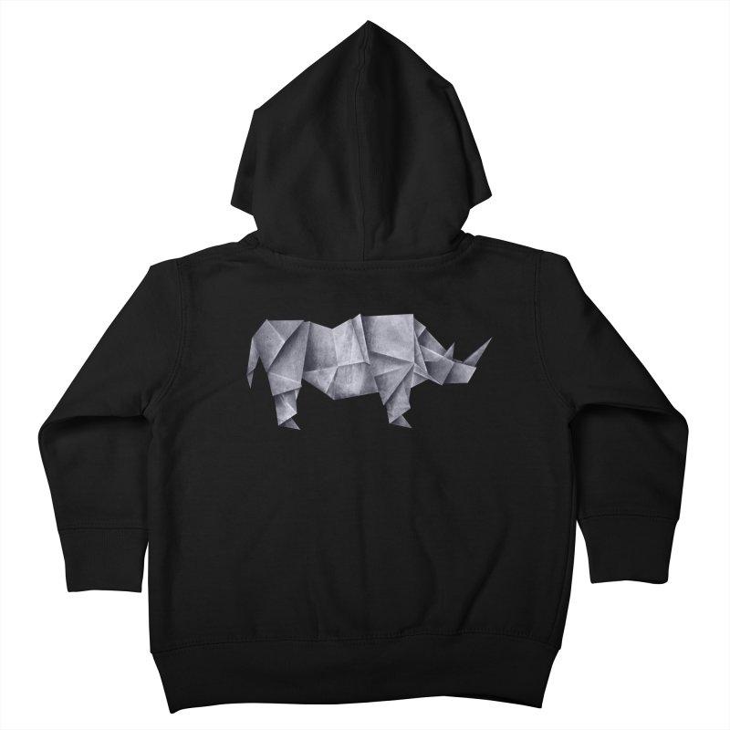 Rhinogami Kids Toddler Zip-Up Hoody by Palitosci
