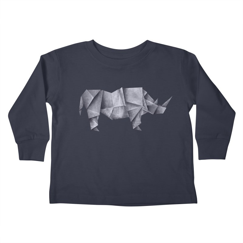 Rhinogami Kids Toddler Longsleeve T-Shirt by Palitosci