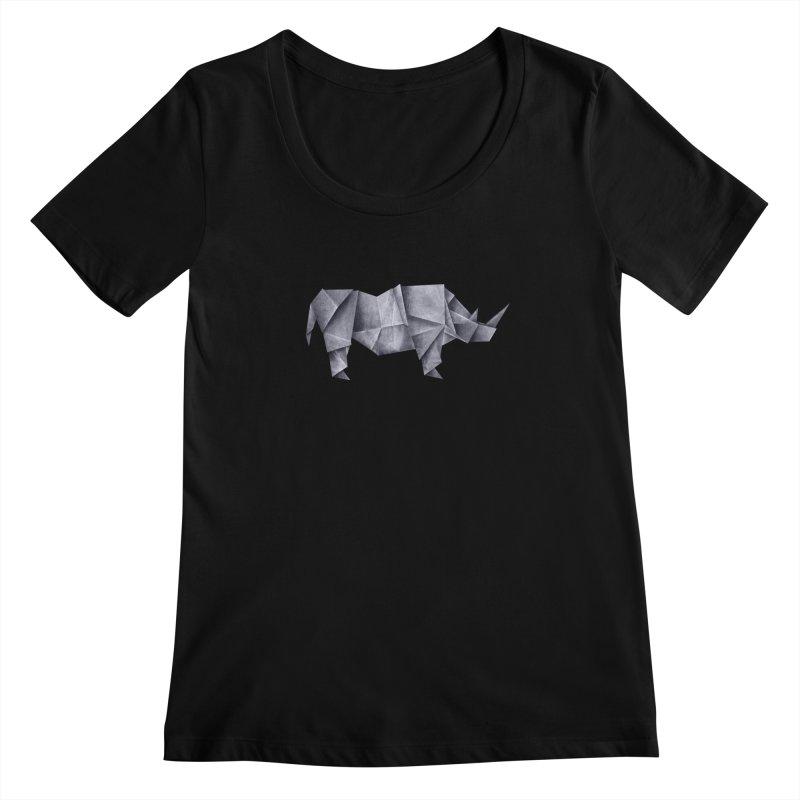 Rhinogami Women's Scoopneck by Palitosci