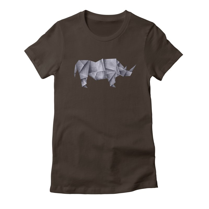 Rhinogami Women's Fitted T-Shirt by Palitosci