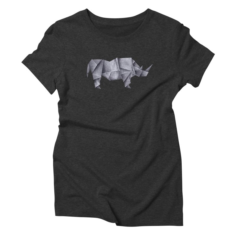 Rhinogami Women's Triblend T-Shirt by Palitosci