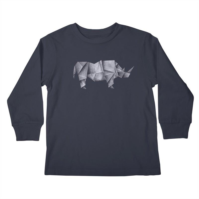 Rhinogami Kids Longsleeve T-Shirt by Palitosci