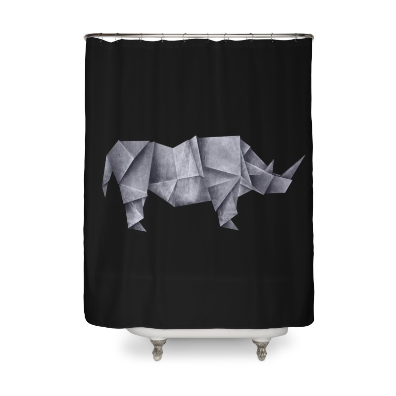 Rhinogami Home Shower Curtain by Palitosci