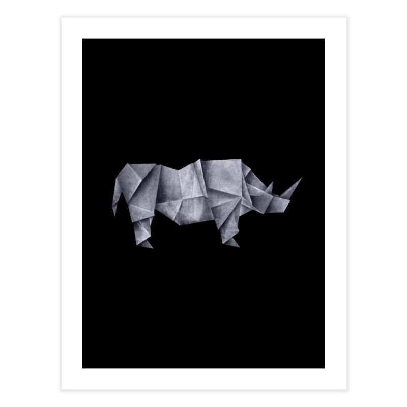 Rhinogami Home Fine Art Print by Palitosci