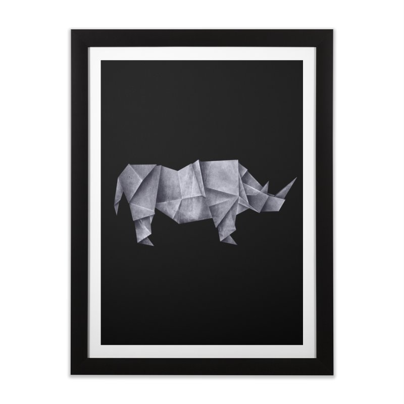 Rhinogami Home Framed Fine Art Print by Palitosci