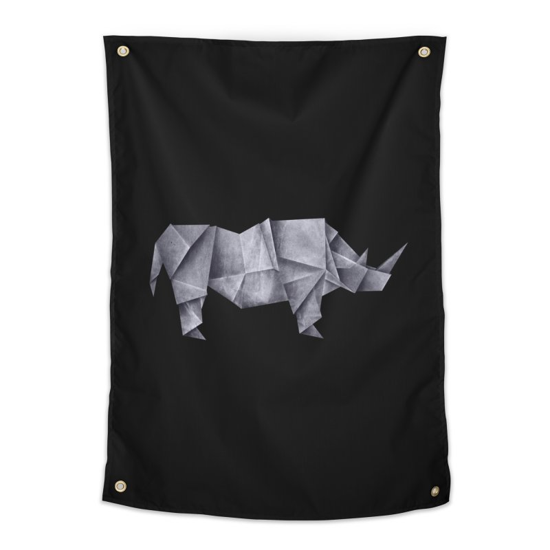 Rhinogami Home Tapestry by Palitosci
