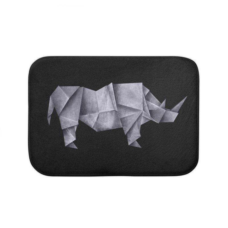 Rhinogami Home Bath Mat by Palitosci