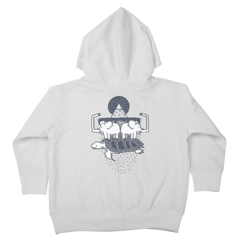 The Flat Earth Kids Toddler Zip-Up Hoody by Palitosci