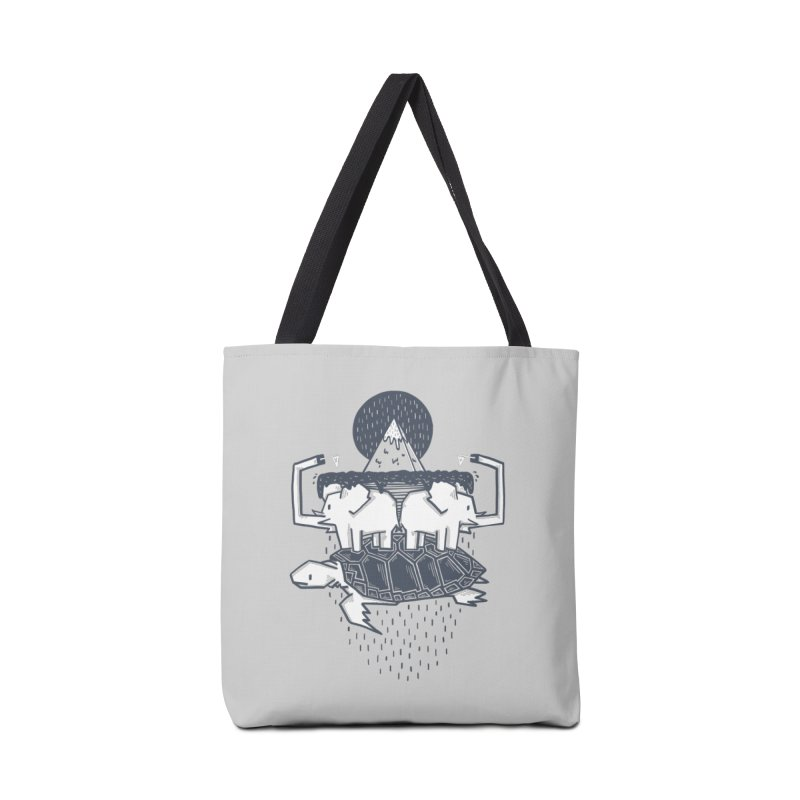 The Flat Earth Accessories Tote Bag Bag by Palitosci