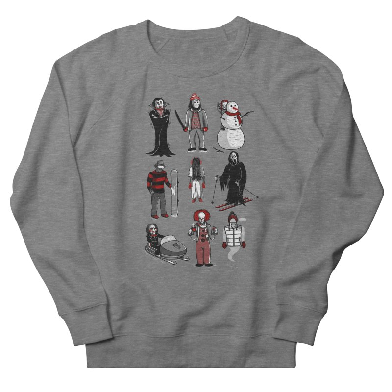 Horror Lives Winter Men's French Terry Sweatshirt by Palitosci