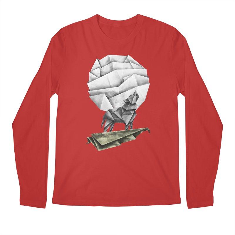 Wolfgami Men's Regular Longsleeve T-Shirt by Palitosci