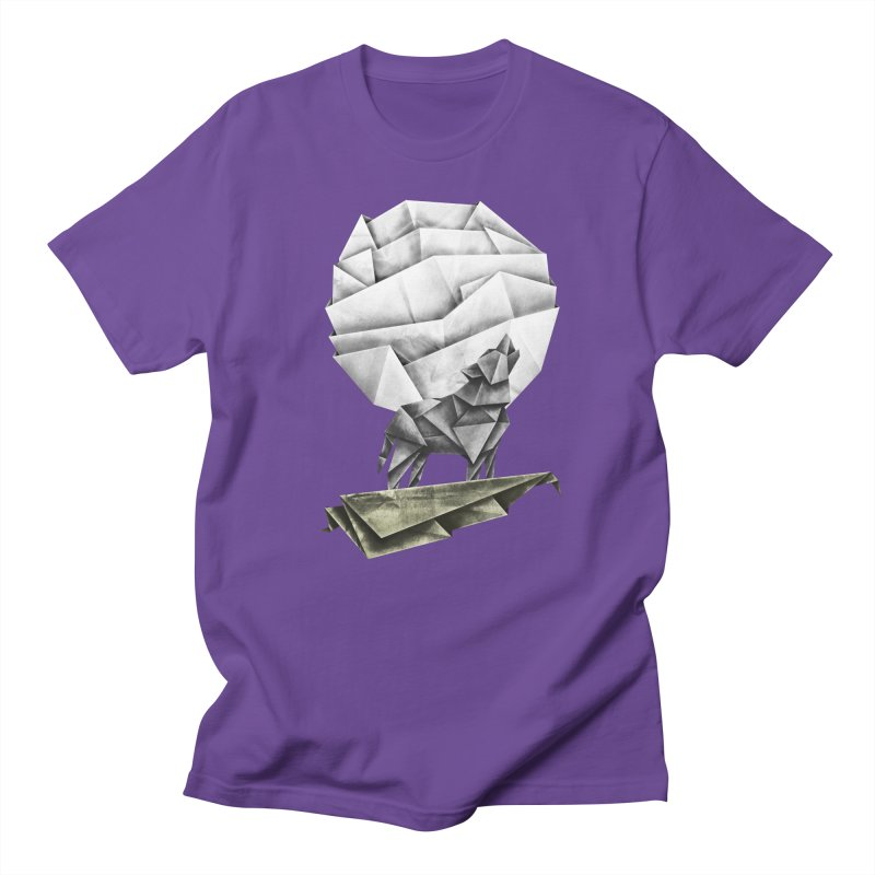 Wolfgami Women's Regular Unisex T-Shirt by Palitosci