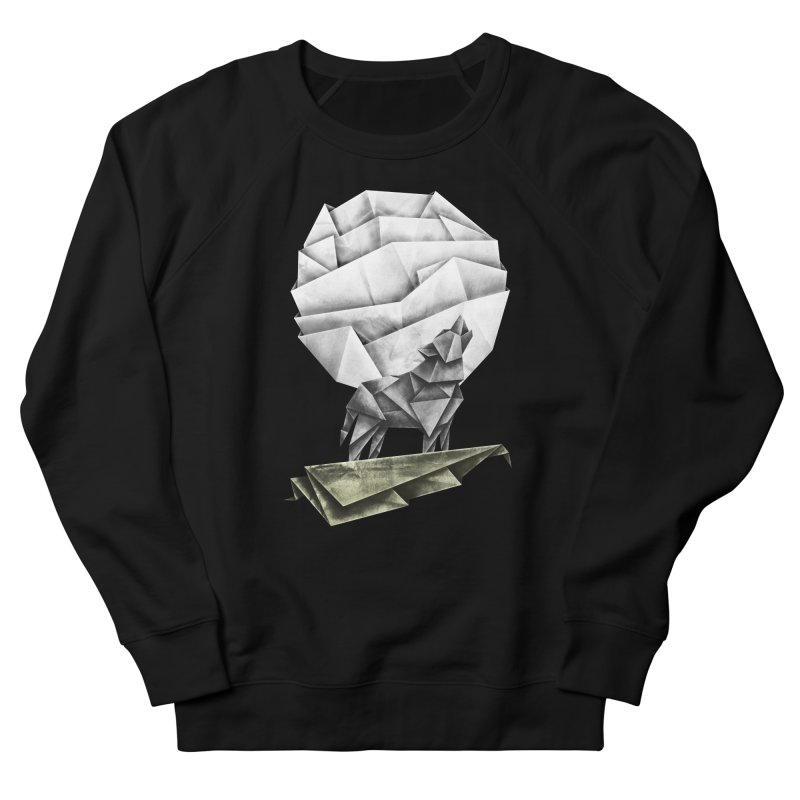 Wolfgami Men's French Terry Sweatshirt by Palitosci