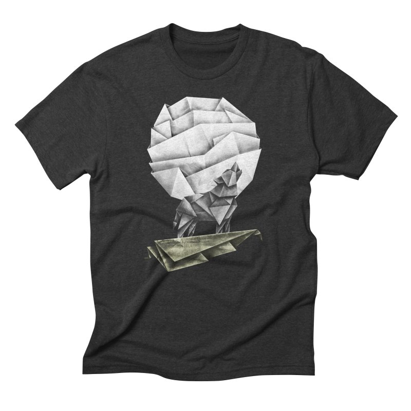 Wolfgami Men's Triblend T-Shirt by Palitosci