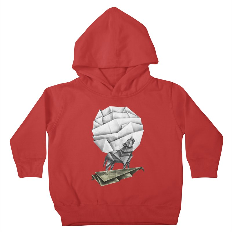 Wolfgami Kids Toddler Pullover Hoody by Palitosci