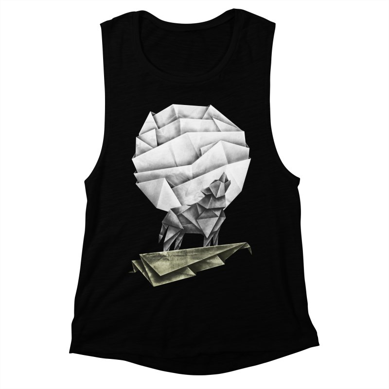 Wolfgami Women's Muscle Tank by Palitosci