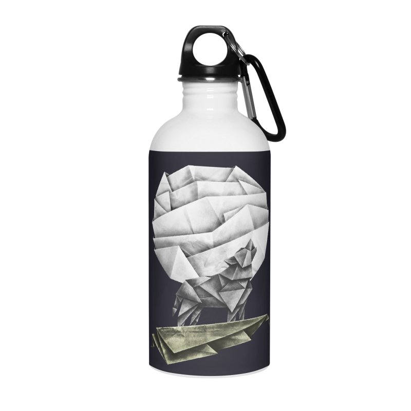 Wolfgami Accessories Water Bottle by Palitosci