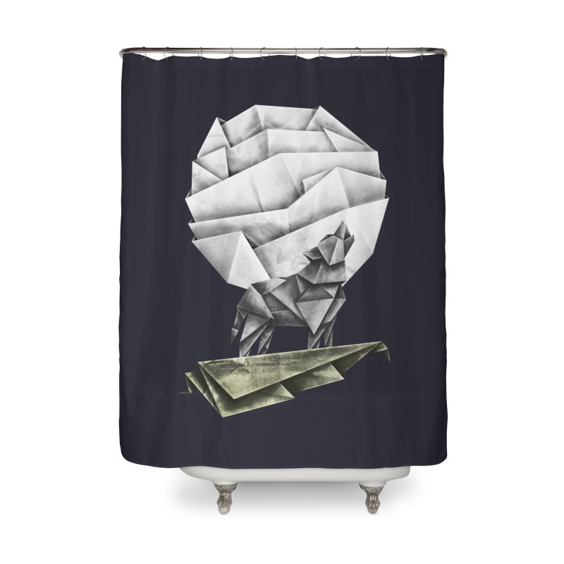 Wolfgami Home Shower Curtain by Palitosci