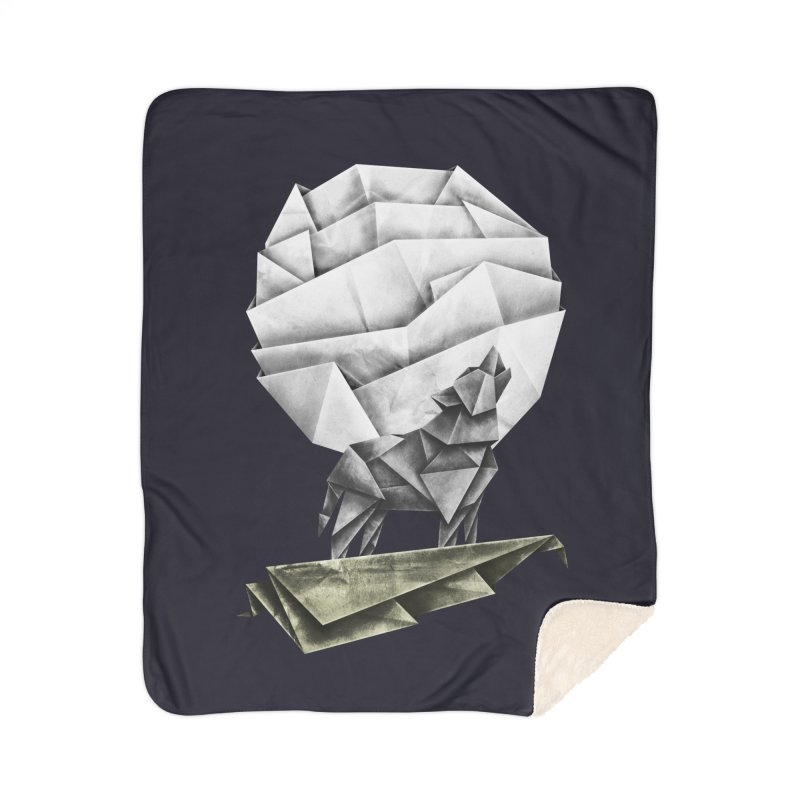 Wolfgami Home Sherpa Blanket Blanket by Palitosci
