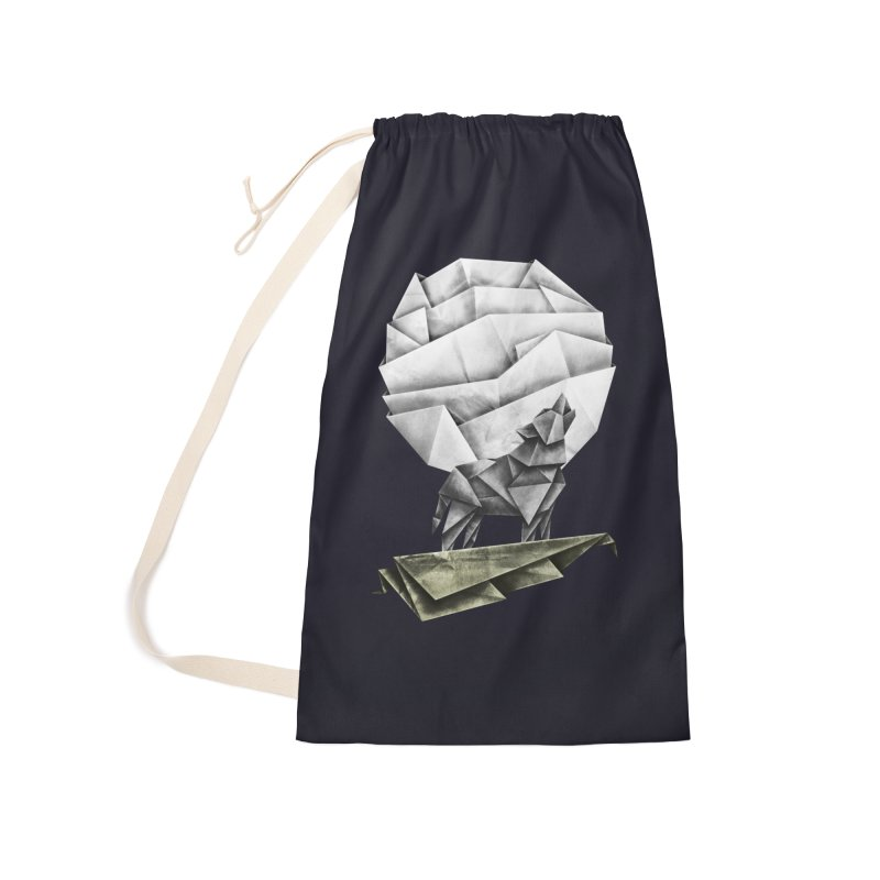 Wolfgami Accessories Laundry Bag Bag by Palitosci