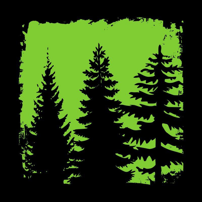 Remote Natural Forest Landscape Women's T-Shirt by Pall Kris Artist Shop