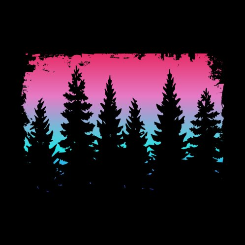 Design for Candy Colors Forest