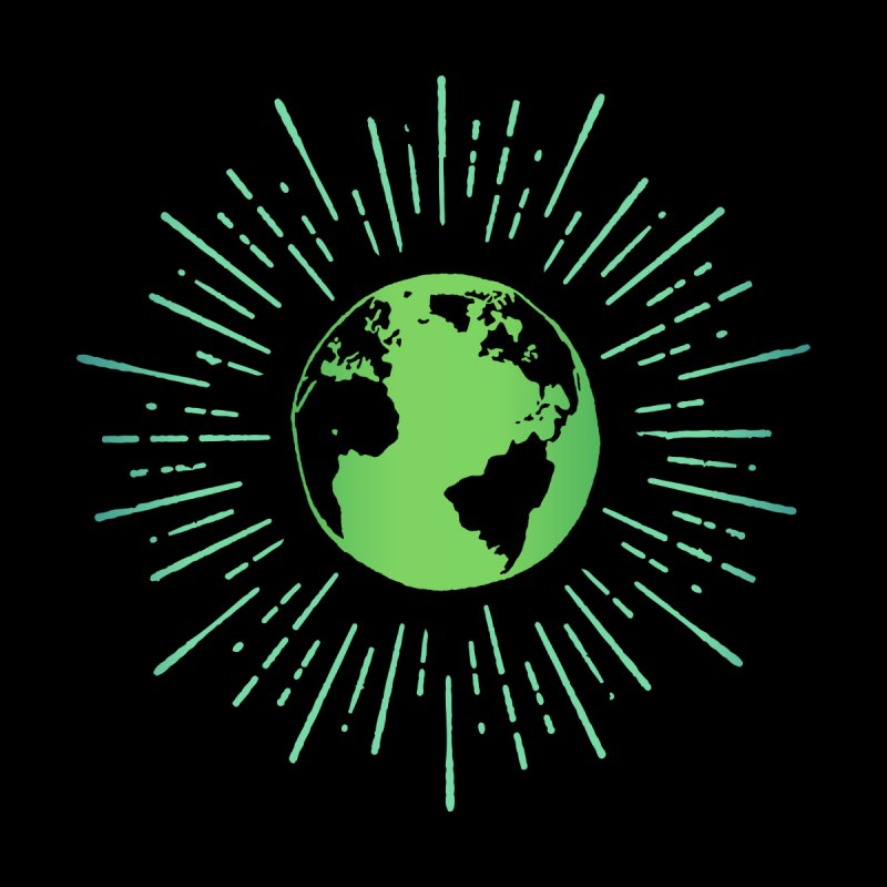 Earth Globe Streetwear Artwork Home Stretched Canvas by Pall Kris T-Shirts Shop