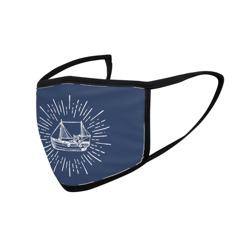 Legendary Sailing Ship Streetwear Fashion Accessories Face Mask by Pall Kris T-Shirts Shop