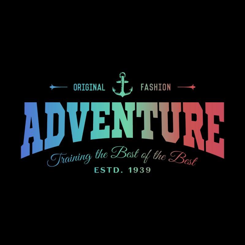 Unique Fashion Adventure Text Apparel Home Stretched Canvas by Pall Kris T-Shirts Shop