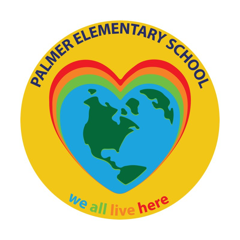 we all live here Palmer Pride Products by Palmer Elementary Shop